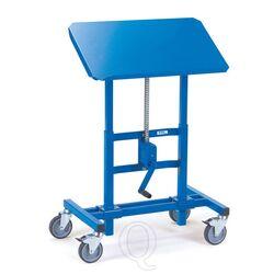 Materiaalstandaard 250 kg 750x450 mm hoogte verstelbaar 655-1025 mm