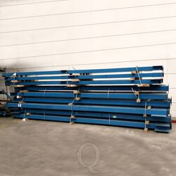 Nedcon vloerkolom 5950x160x160 mm blauw