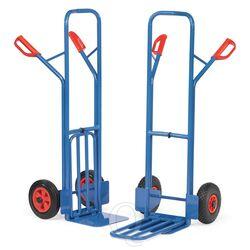 Inklapbare steekwagen 300 kg 1300 mm met rubberbanden