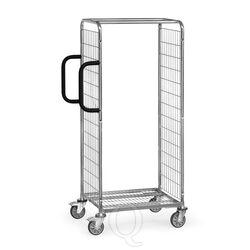 Orderverzamelwagen van gelast draadgaas, draagvermogen 200 kg, 650x510x1625