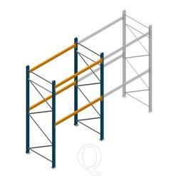 Palletstelling Apersa 3000x1850x1100 2 niveaus beginsectie