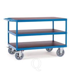 Tafelwagen, zwaarlastwagen 1200 kg 1000x700 met 3 houten etages