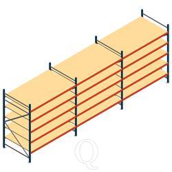 Voordeelrij grootvakstelling AR 2500x5790x1200mm (hxbxd) - 5 niveaus