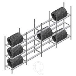 Voordeelrij bandenstelling Medium Duty 2000x4000x700 4 secties 3 niveaus