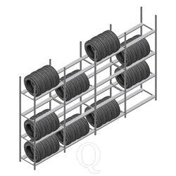 Voordeelrij bandenstelling Medium Duty 2500x4000x700 4 secties 4 niveaus