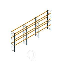 Voordeelrij palletstelling Apersa 5000x11104x1100 3 niveaus