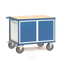 Zware werkplaatswagen 600 kg met 2 etagebakken 1050x700 mm
